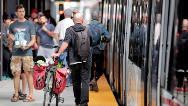Bikes, e-scooters could be permanent fixtures on city's trains: report   CBC News