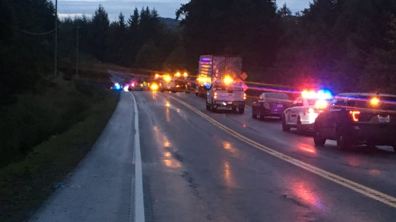 2 killed in highway crash near Campbell River