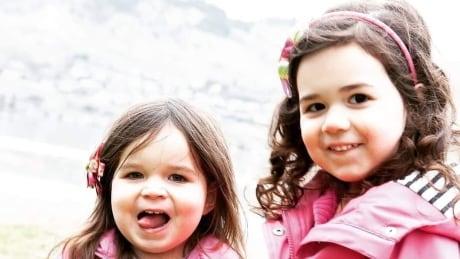 Karina, 8, and Yesenia, 9