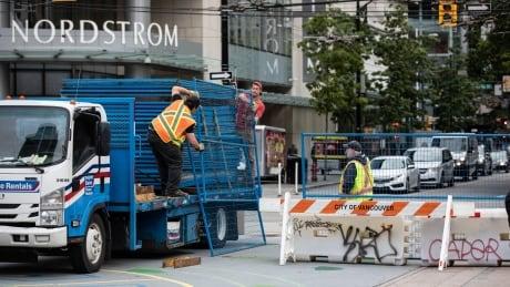 Robson Plaza Construction