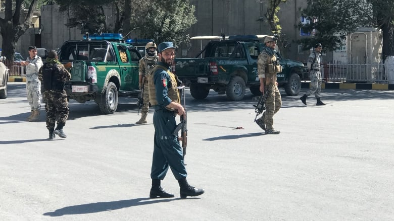 Suicide bombing kills 24 at Afghan president's rally