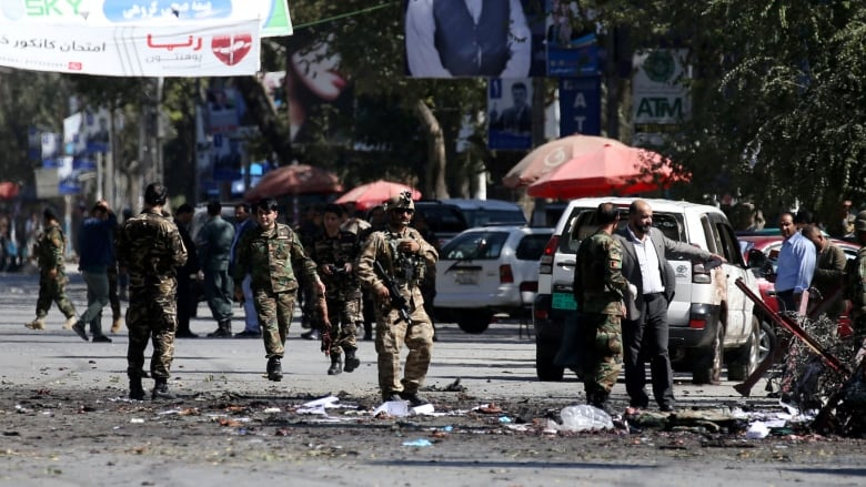 2 suicide bombings kill 46, wound 38 in Afghanistan