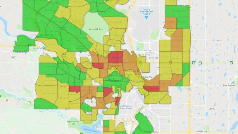 Break-ins are way up in Calgary's inner city, way down in many suburbs