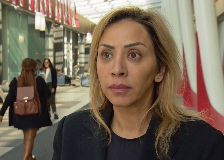 ghuna bdiwi - Canadian Labour Congress exec calls to end sanctions in Syria