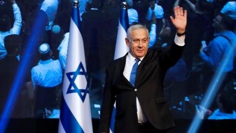 ISRAEL-ELECTION/LIKUD HEADQUARTERS