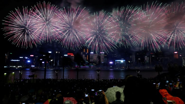 Hong Kong cancels fireworks marking China's national day amid protests