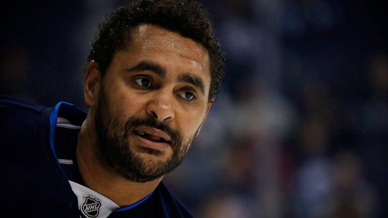 Is Dustin Byfuglien thinking of hanging up his skates?