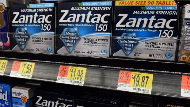 Heartburn drug Zantac recalled as a 'precaution' | CBC News