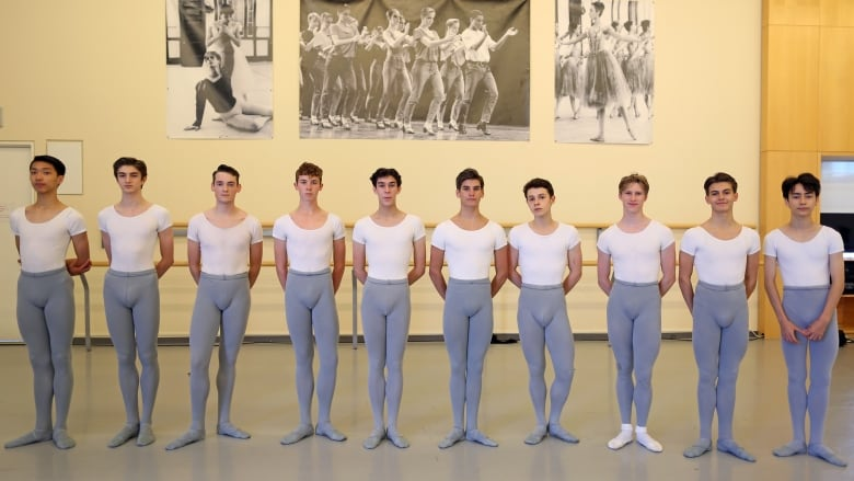 For first time in history of Canada's National Ballet School, more boys than girls will graduate