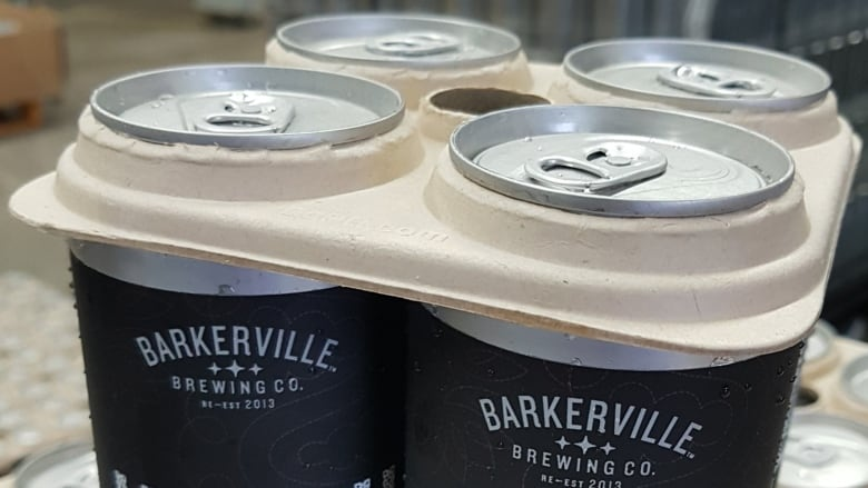 B.C. brewery pilots compostable four-pack beer ring carriers