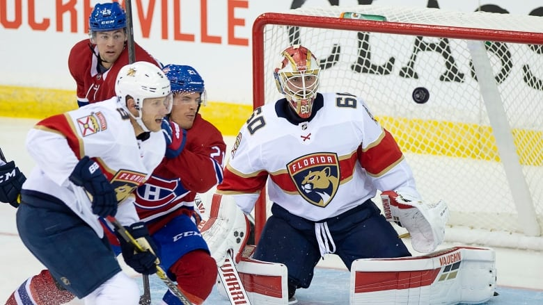 wholesale dealer e4df0 467f5 Canadiens edge Panthers in Hockeyville matchup in N.B. | CBC ...