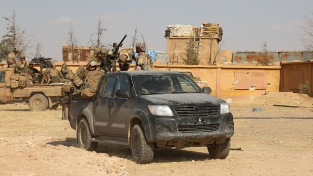 Canadian special forces armoured truck stolen in Iraq during Mosul liberation | CBC News