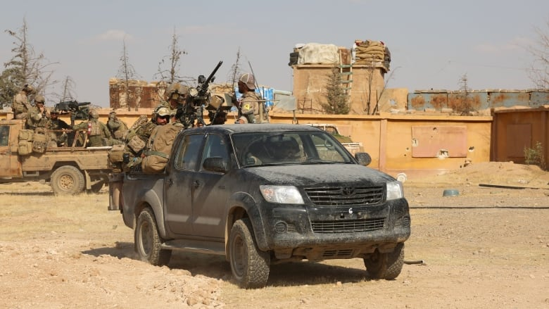 Canadian special forces armoured truck stolen in Iraq during Mosul liberation