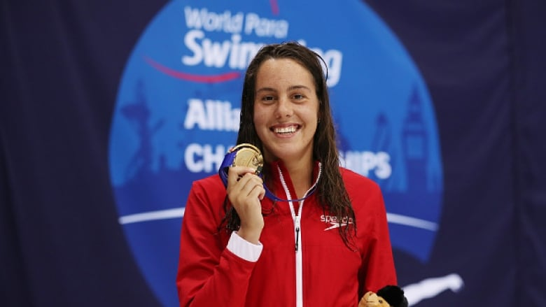 'It was a mix of feelings': Rivard reflects on performance at para swimming worlds