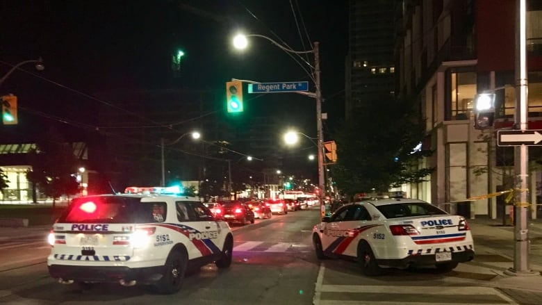 Man dead, teen injured in 2 separate shootings in Toronto Thursday night