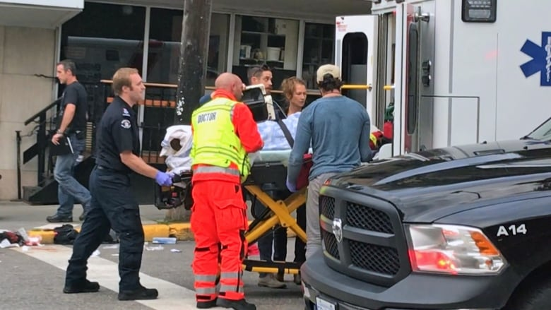 Woman stabbed at least 5 times in apparent random attack in Nelson, B.C.