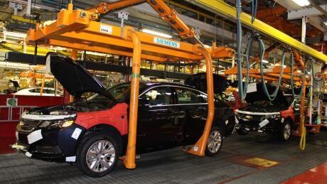 Oshawa assembly line