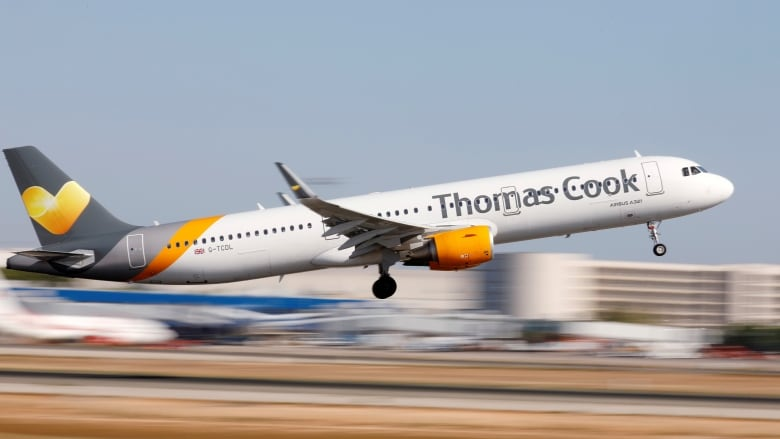 Thomas Cook travel on verge of collapse