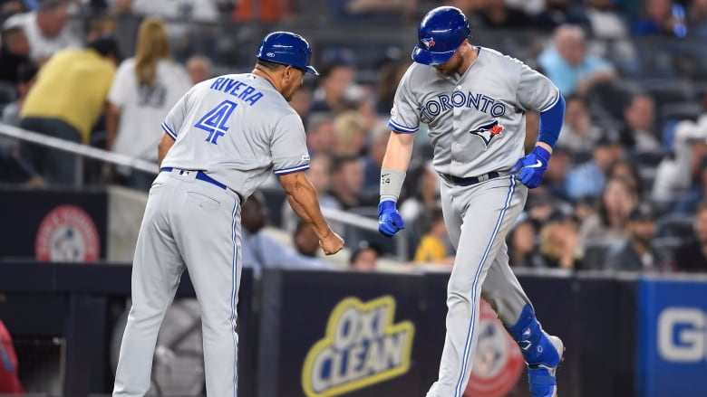 Jays ride bats to beat AL East champ Yankees