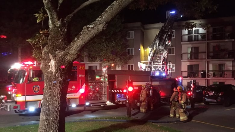 Quebec City fire forces 80 from apartment building