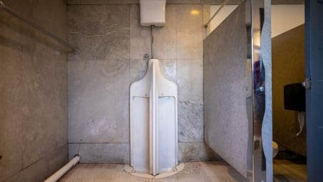 Twin Urinal,  Heritage Hall, Vancouver