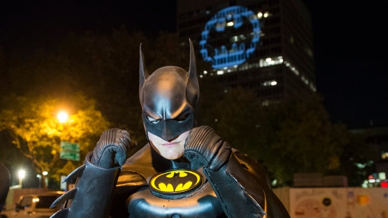 Montreal and other cities light 'bat signal' to fete Batman at 80