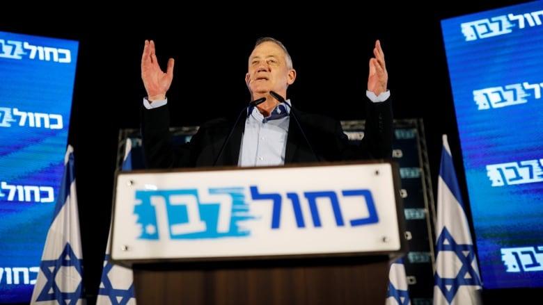 Arab bloc in Israel endorses Benny Gantz for prime minister