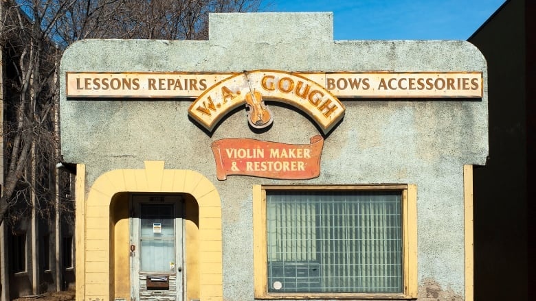 "Demolition of iconic Calgary violin store ""diminishes the richness of city life"": historian"