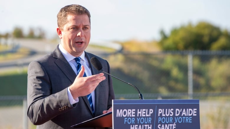 Andrew Scheer slams 'terrible' Liberal approach to safe injection sites