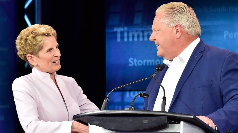 Ontario premiers past and present become political targets in federal campaign
