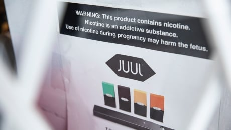 Juul Advertisements at a convenience store in Toronto