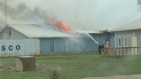 Canupawakpa Dakota First Nation fire