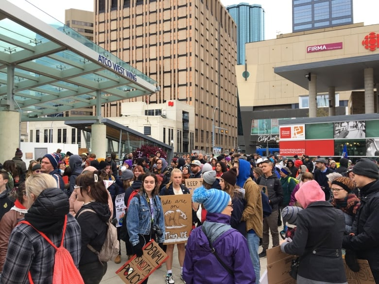 Canadians rally across country to call for bolder action on climate change