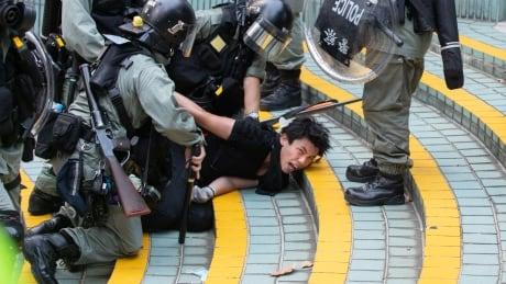 Hong Kong protest arrests