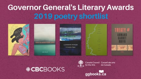 Governor General's Literary Award poetry finalists