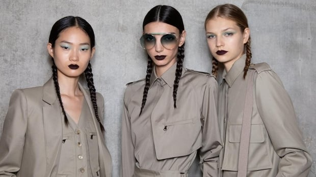 The Big Beauty Trends From All The International Spring Summer 2020 Fashion Week Shows Cbc Life
