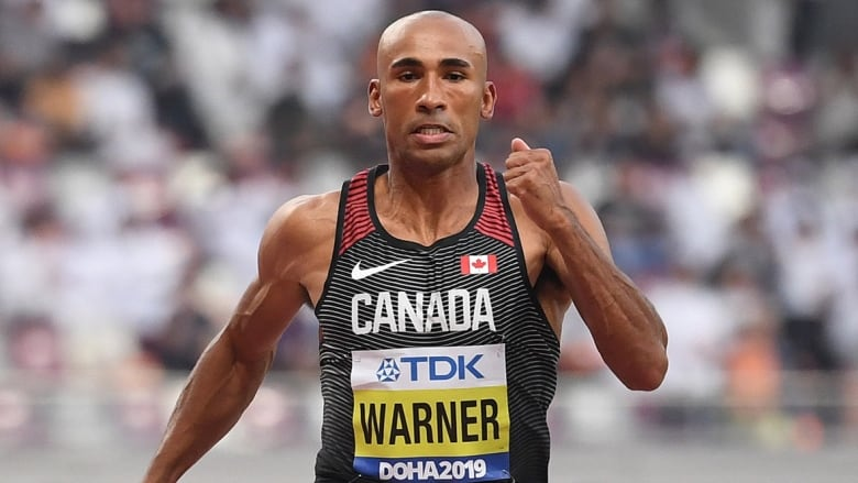 Damian Warner 2nd after 3 events of men's world decathlon