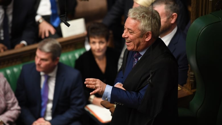 Speaker John Bercow Reflects On 10 Years Of Keeping British Parliamentarians In Line Cbc Radio