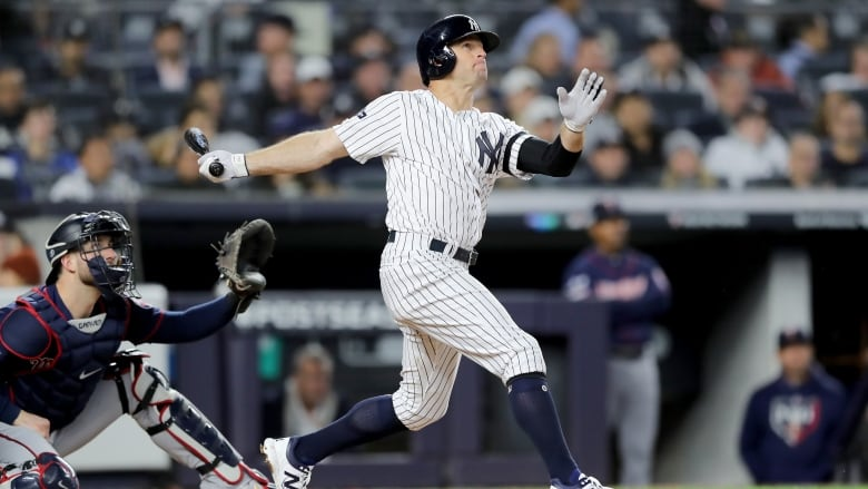 Yankees Bats Difference Maker In Win Over Twins Cbc Sports