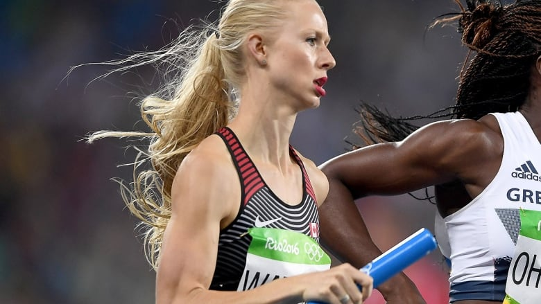 Canadian women to run for world gold in 4x400-metre relay