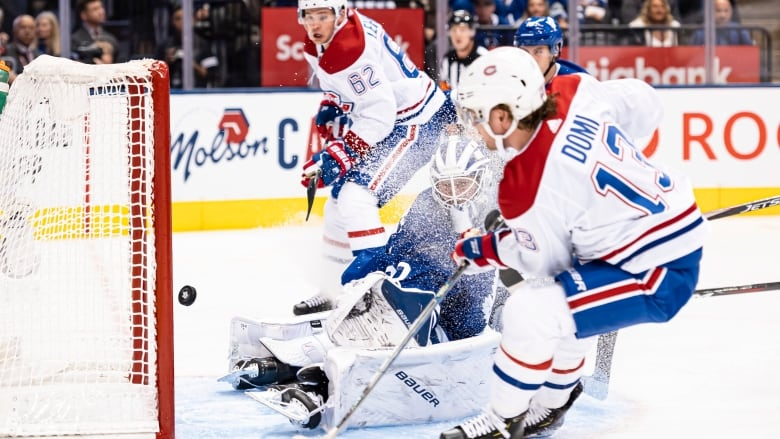 Leafs Blow 3 Goal Lead As Habs Win In Shootout Cbc Sports