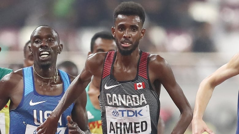 Moh Ahmed lowers Canadian record to 26:59.30 in world 10,000-metre final