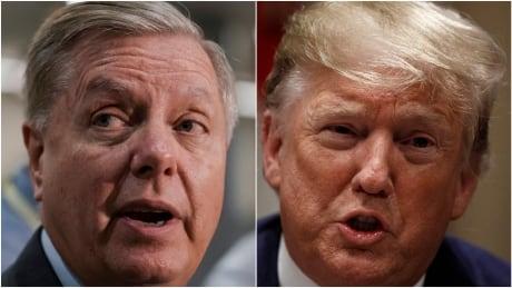 Lindsey Graham Donald Trump composite