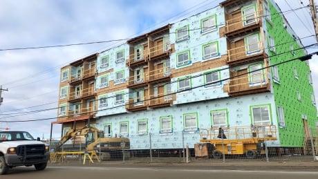 Nunavut housing construction Iqaluit