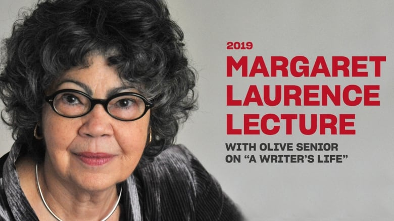Olive Senior delivers prestigious 2019 Margaret Laurence Lecture: A Writer's Life