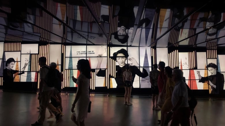 Video installation puts Montreal Women's Symphony Orchestra in the spotlight