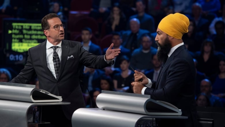 Singh might have won the English debate - but tonight, the pressure is on Blanchet