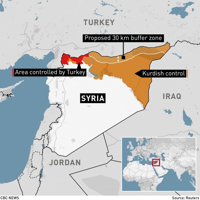 Syrian Kurds paying smugglers to find their way to refuge in ...