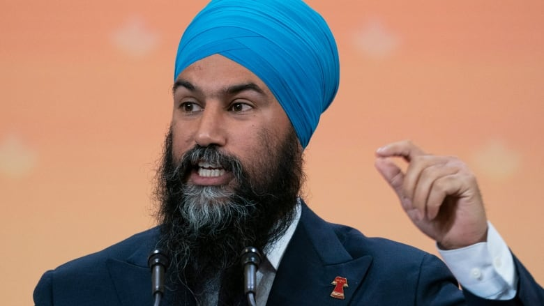 NDP Leader Jagmeet Singh begins to lay out minority scenario conditions
