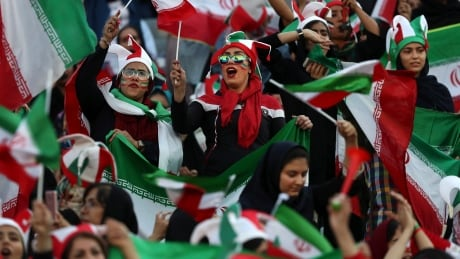 Iran Women At Match